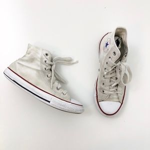 Converse All Stars Youth Tall Chuck Taylors White